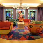 【TDR】セレブレーションホテル「ウィッシュ」ロビー・中庭 レポート