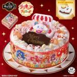 プリキュアのクリスマスケーキを比較「キャラデコ」はイオンの早割がお得!